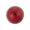 Ruby Gold Foil Dots Cabochon 20mm Venetian Bead