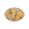 Cluseau Oval Multi Fold Foil 24mm Venetian Beads