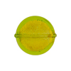 Peridot Gold Foil Murano Glass Coin 19mm