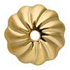 Gold Filled Bead Cap Scalloped 7mm