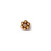 3mm Heishi Spacer Beads, Plated, Per Piece Antique Gold