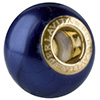 50% Off! Night Blue Painted Bead Vermeil Insert
