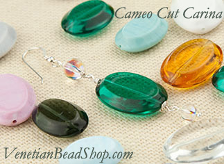 New Shapes Exclusively at Venetian Bead Shop