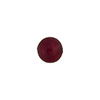Red (Ruby) 8mm Gold Foil Round, Murano Glass Bead
