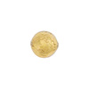Clear 10mm Gold Foil Round, Murano Glass Bead