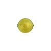 Peridot 10mm Gold Foil Round, Murano Glass Bead