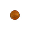 Topaz 10mm Gold Foil Round, Murano Glass Bead