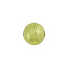 Murano Glass Bead Peridot, Green .925 Sterlng Silver Foil 10mm Round
