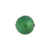 Verde Marino 12mm Gold Foil Round, Murano Glass Bead