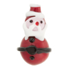 Lampwork Murano Glass Santa Claus Christmas Bead, 30mm