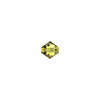 Swarovski 5328 Xilion 3mm Faceted Bicone, Lime