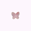 Swarovski Elements 5754 Butterfly Bead, 8mm Light Rose