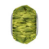 Swarovski 5948 BeCharmed Briolette, Olivine, 4.5mm Hole
