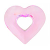 Swarovski 6262 Miss U Heart, 17mm, Rosaline
