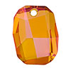 Swarovski 6685 Graphic Pendant, 19mm, Crystal Astral Pink