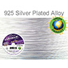 Soft Flex Extreme .019 Dia. 30 Ft. 19 Strand  Silver Plated