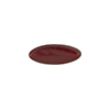 Transparent Flat Oval 16x6 Glass Garnet Red