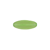 Transparent Flat Oval 16x6 Glass Peridot