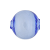 Murano Glass Bead Blue Solid Color Blown Round 20mm