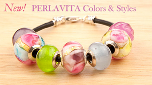 New PERLAVITA Authentic Murano Glass - Make your Own Bracelet