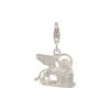 Lion of Venice Sterling Silver Charm with Trigger Clasp