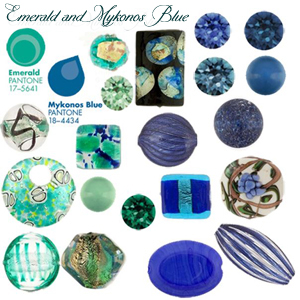 Emerald and Blue Pantone Colors for Fall 2013