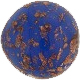Murano Glass Bead Aveneturina and Lapis