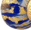 Marmo Cobalt Blue PERLAVITA Large Hole Bead Murano Glass