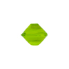Venetian Bead Bicone Cut 13x11mm Peridot Green