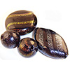 Dichroic Blown Murano Glass Beads