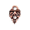 TierraCast Link End Celtic Design, Antiqued Copper Plated Pewter
