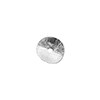 Sterling Silver Curved Spacer Bead, 7.5mm, 1.5mm Hole Per Piece