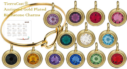 Make a Charm Bracelet with these Gold Plated Charms