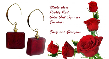 Get Ready for Fall with these Red Earrings