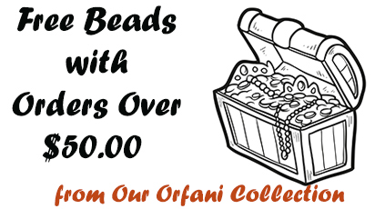 Free Beads on Orders Over $50