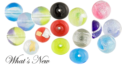 Great New color and styles of Venetian Beads