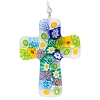 Pastels Multi Millefiori Cross Large