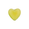 Spring Green Caramella Heart 14mm, Venetian Glass Bead