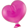 Hot Pink Boro Glass Balloon, Small