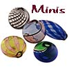 Mini Blown Murano Beads