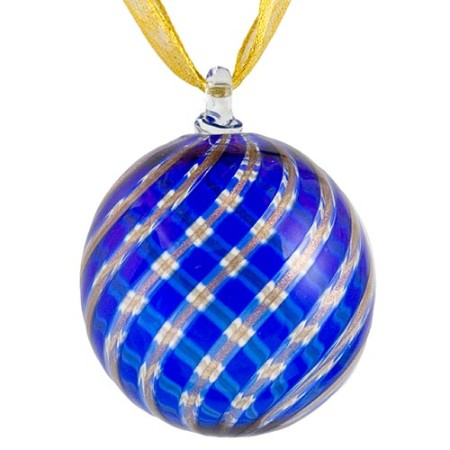 Murano Glass Holiday Ornament  Christmas Ornament
