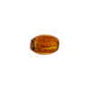 Silver Foil Oval Small 11mm x 6mm Topaz