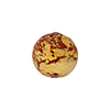 Opaque Red Ca'd'oro Gold Foil Round 14mm