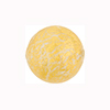 Opaque White Ca'd'oro 24kt Gold Foil Round 18mm Round Murano Glass Bead