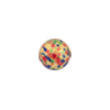 Jewelled Multi-Colored Round Bead, 10mm, Gold Foil, Murano Glass Bead