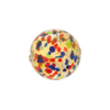 Jewelled 16mm Round Barocco Murano Glass Bead