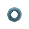 Opaque Pale Aqua Rondelle 15X10mm 6mm Hole, Murano Glass Bead
