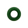 Forest Green Rondelle 15X10mm 6mm Hole, Murano Glass Bead