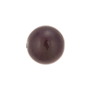 Purple Iris Caramella Round 14mm, Venetian Glass Bead