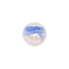 Tosca Silver Foil Round, 12mm , Blue Murano Glass Bead